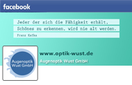 Optik Wust auf Facebook